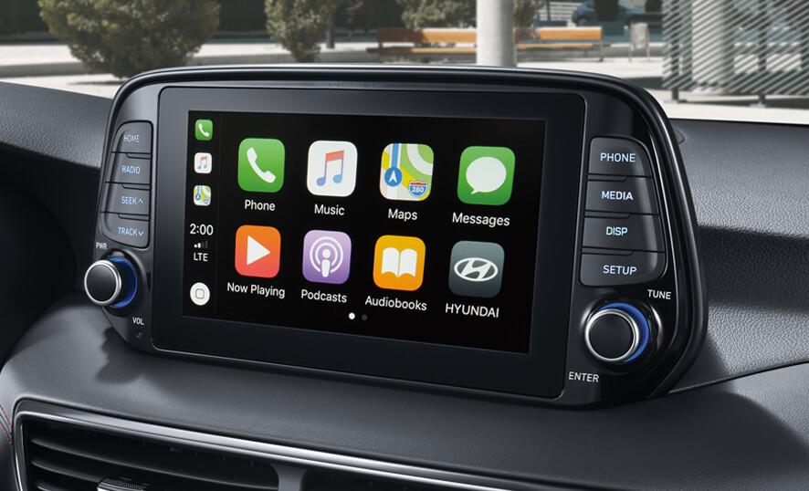 Hyundai Tucson Pantalla