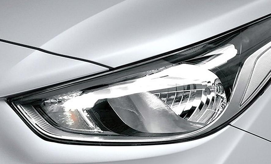 Hyundai Accent Faros Halógeno