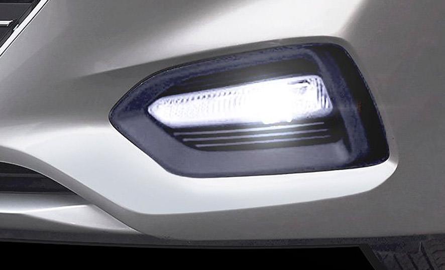 Hyundai Accent Luces Diurnas