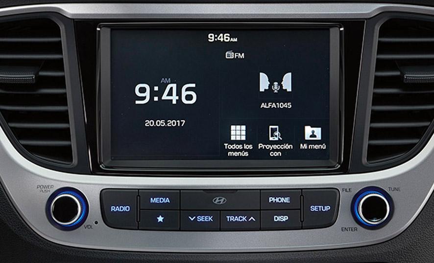 Pantalla Hyundai Accent